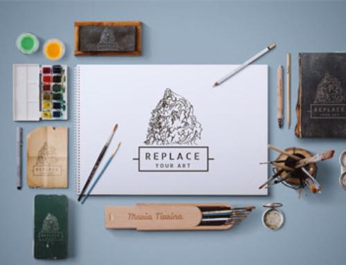 Free Art Equipments – Scene Mockup