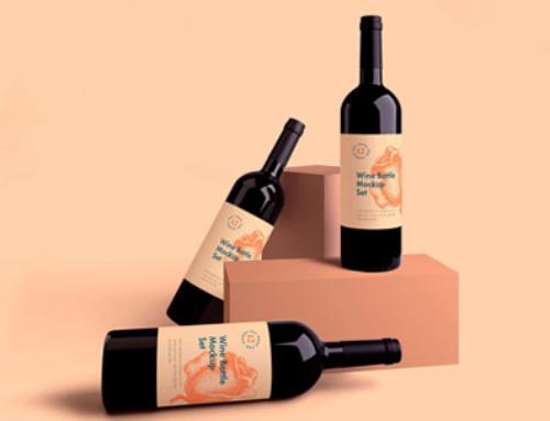 Free Wine Bottle Mockups